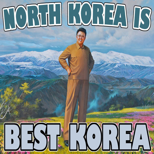 north korea is best korea. North Korean fiction.