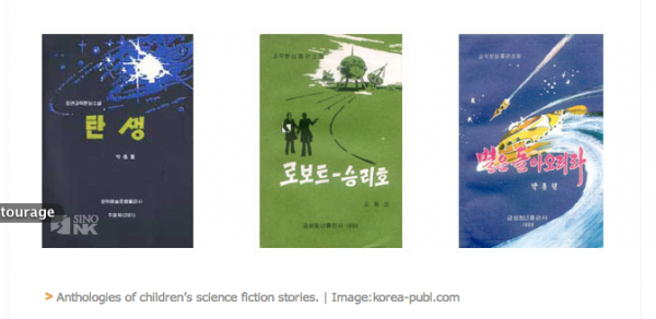 North Korean Science Fiction Covers